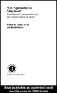 Ebook in inglese New Approaches to Migration? Al-Ali, Nadje , Koser, Khalid