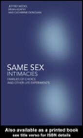 Same Sex Intimacies