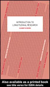 Foto Cover di An Introduction to Longitudinal Research, Ebook inglese di Elisabetta Ruspini, edito da