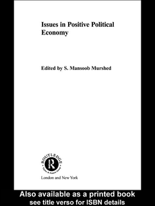 Ebook in inglese Issues in Positive Political Economy