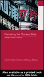Ebook in inglese Remaking the Chinese State