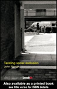 Ebook in inglese Tackling Social Exclusion Pierson, John