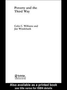 Ebook in inglese Poverty and the Third Way