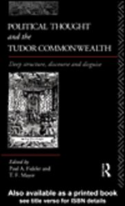 Ebook in inglese Political Thought and the Tudor Commonwealth