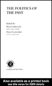 Ebook in inglese The Politics of the Past