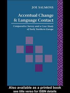 Foto Cover di Accentual Change and Language Contact, Ebook inglese di Joe Salmons, edito da