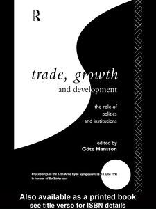 Ebook in inglese Trade, Growth and Development