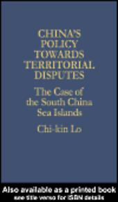 China's Policy Towards Territorial Disputes