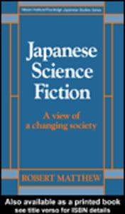 Foto Cover di Japanese Science Fiction, Ebook inglese di Robert Matthew, edito da