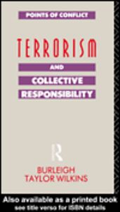 Ebook in inglese Terrorism and Collective Responsibility Taylor Wilkins, Burleigh