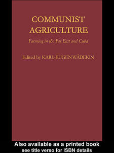 Ebook in inglese Communist Agriculture