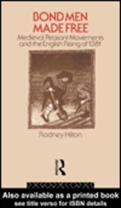 Foto Cover di Bond Men Made Free, Ebook inglese di Rodney Hilton, edito da