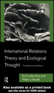 Foto Cover di International Relations Theory and Ecological Thought, Ebook inglese di Eric Laferrière,Peter J. Stoett, edito da