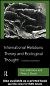 Ebook in inglese International Relations Theory and Ecological Thought Laferrière, Eric , Stoett, Peter J.