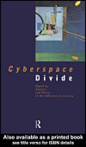 Ebook in inglese Cyberspace Divide