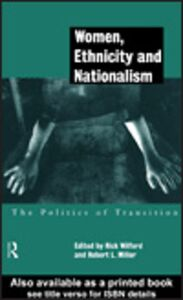 Ebook in inglese Women, Ethnicity and Nationalism
