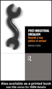 Ebook in inglese Post-Industrial Socialism Little, Adrian
