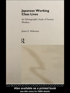 Ebook in inglese Japanese Working Class Lives Roberson, James E.