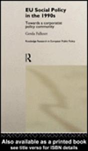 Ebook in inglese EU Social Policy in the 1990s Falkner, Gerda