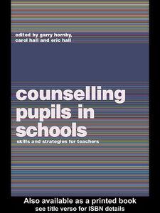 Foto Cover di Counselling Pupils in Schools, Ebook inglese di AA.VV edito da