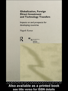 Ebook in inglese Globalization, Foreign Direct Investment and Technology Transfers