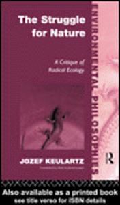 Ebook in inglese The Struggle For Nature Keulartz, Jozet