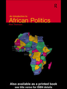 Ebook in inglese An Introduction to African Politics Thomson, Alex