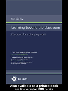 Ebook in inglese Learning Beyond the Classroom Bentley, Tom