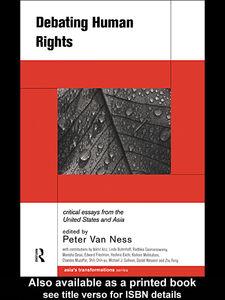 Foto Cover di Debating Human Rights, Ebook inglese di Peter Van Ness, edito da