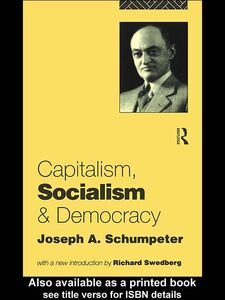 Foto Cover di Capitalism, Socialism and Democracy, Ebook inglese di Joseph A. Schumpeter, edito da