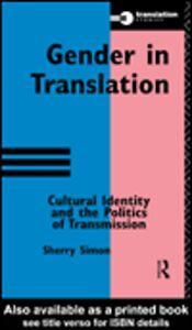 Ebook in inglese Gender in Translation Simon, Sherry