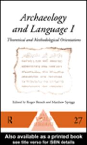 Ebook in inglese Archaeology and Language III