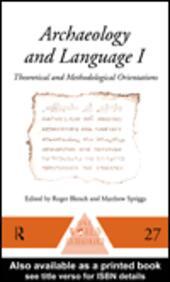 Archaeology and Language III