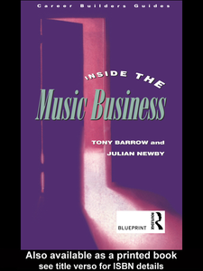Ebook in inglese Inside the Music Business Barrow, Tony , Newby, Julian
