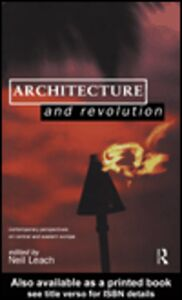 Ebook in inglese Architecture and Revolution