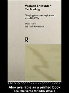 Ebook in inglese Women Encounter Technology