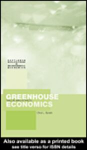 Ebook in inglese Greenhouse Economics Spash, Clive L.