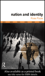 Ebook in inglese Nation and Identity Poole, Ross