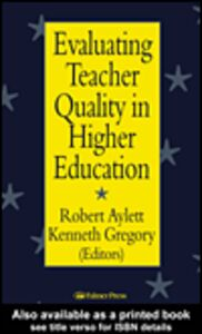 Ebook in inglese Evaluating Teacher Quality in Higher Education