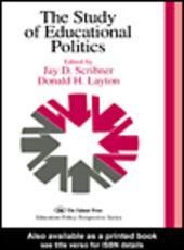 The Study Of Educational Politics