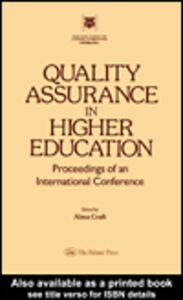 Ebook in inglese Quality Assurance In Higher Education