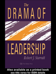 Ebook in inglese The Drama Of Leadership