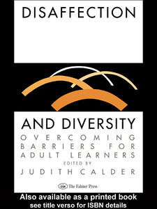 Ebook in inglese Disaffection And Diversity