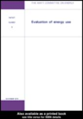 Evaluation of Energy Use
