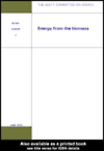 Ebook in inglese Energy from the Biomass Watt Committee on Energy Publications