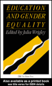 Ebook in inglese Education And Gender Equality