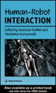 Ebook in inglese Human-Robot Interaction