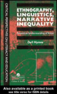 Ebook in inglese Ethnography, Linguistics, Narrative Inequality