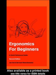 Foto Cover di Ergonomics for Beginners, Ebook inglese di Jan Dul,B. A. Weerdmeester, edito da