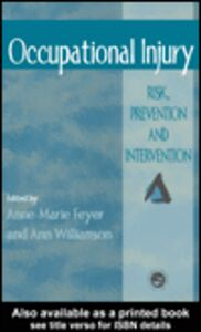 Ebook in inglese Occupational Injury